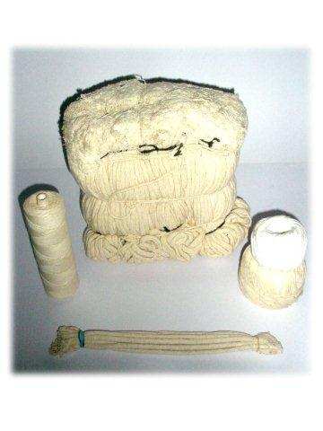 Cotton Candle Wicks & Cotton Stove Wicks in assorted packaging