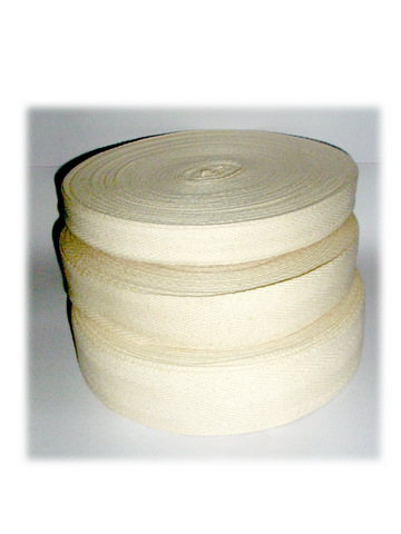 Cotton Webbing Tape In 3 Sizes