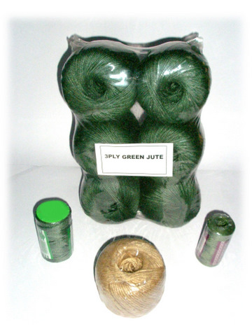 Natural Green Jute Twine Balls Reel
