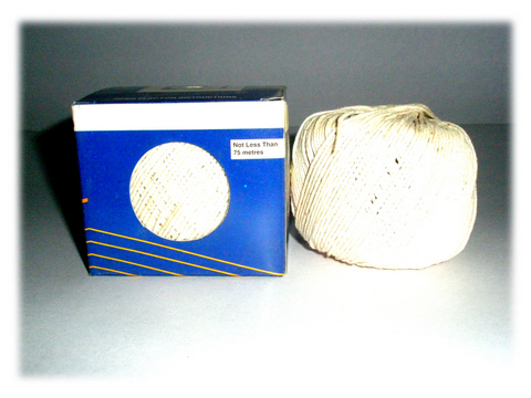 Polished Cotton Twine Box