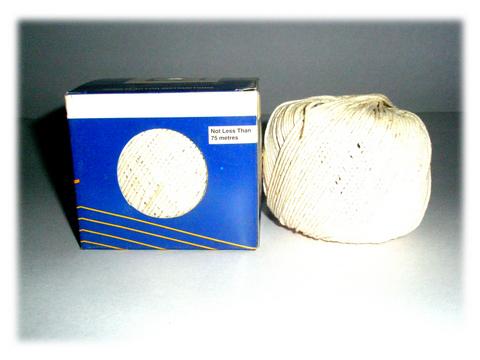 Polished Cotton Twine Box
