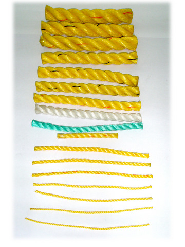 Polypropylene Rope In Sizes Ranging From 1mm-30mm